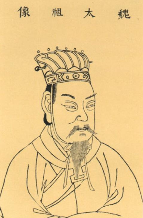 曹操孟徳の肖像画
